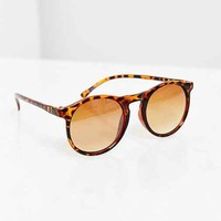Uniform Round Sunglasses - Brown One