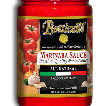 Botticelli Homemade Marinara Sauce (1) 24 Oz Bottle