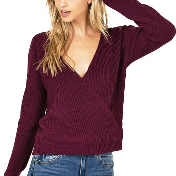 Limit Surplice Knit