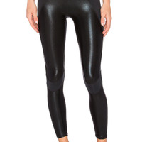 Body Language Blade Legging in Black & Foil
