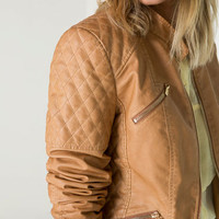 Bershka Croatia - BSK imitation leather jacket