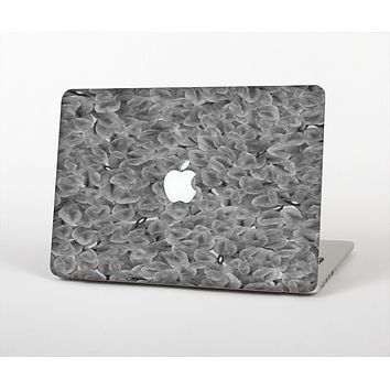 The Grayscale Flower Petals Skin for the Apple MacBook Air 13""
