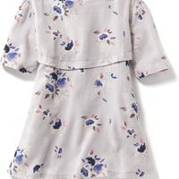 Old Navy Floral Crepe Swing Dress For Baby