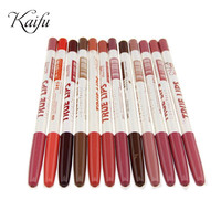 12pcs/lot Waterproof Lip Liner Pencil