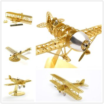 Collecti1/160  Etrich Taube The Second World War, the restoration of the ancient dove old School 3D Assembled metal model Puzzle