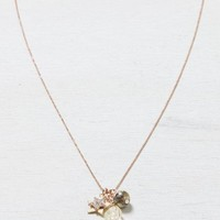 AEO Women's Crystal & Charms Necklace (Mixed Metal)