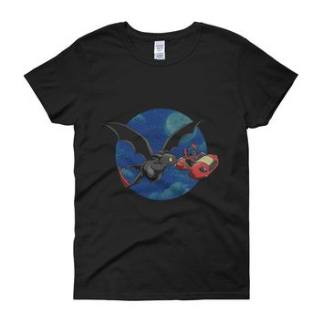 Lilo And Stitch Funny Women'S T Shirt