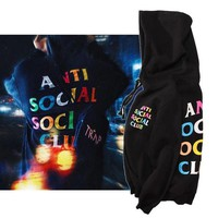 ASSC Hoodies Tops Alphabet Hats