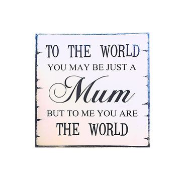 MUM Vintage Chic Wall Plaque Sign