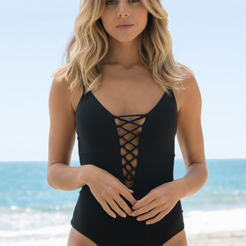 Cami & Jax - Marla One Piece | Black