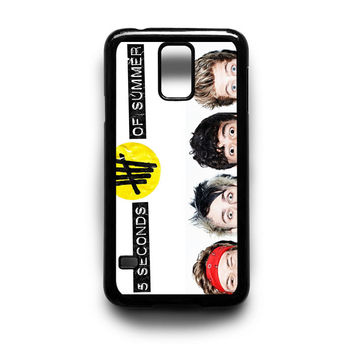 5 Seconds Of Summer Collage Samsung Galaxy S3 S4 S5 Note 2 3 4 HTC One M7 M8 Case