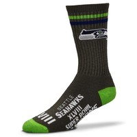 Seattle Seahawks Super Bowl XLVIII Champions Ladies Tall Socks - Gray