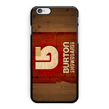 New Burton Snowboards Sport Logo M iPhone 6 Plus Case