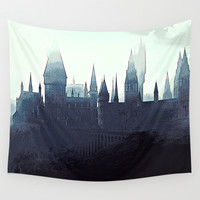 Harry Potter - Hogwarts Wall Tapestry by Elaera Starsley