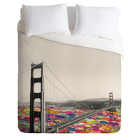 Bianca Green Its In The Water Duvet Cover