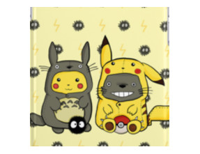 Totoro and Pikachu Onesuits
