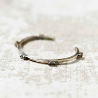 Bing Bang Five Baguettes Silver Cuff Bracelet- Silver One