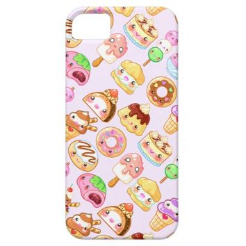 Cute Dessert Friends Phone Case iPhone 5 Covers