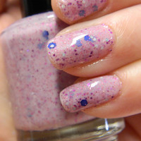 Berry Patch Polish Light Pink Glitter Nail Polish by KBShimmer