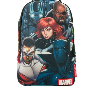 Marvel Mashup 2.0 Backpack  (SPRAYGROUND)