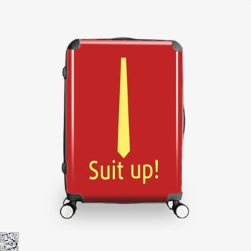 Suit Up, How I Met Your Mother Suitcase