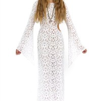 AMERICAN GOLD Sacred Heart Cut Out Maxi