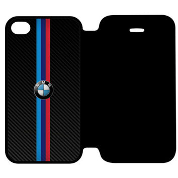 BMW M Power German Automobile and Motorcycle iPhone 4 | 4S Flip Case Cover