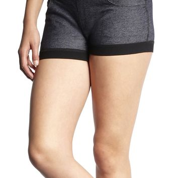 Michi Facade Shorts | Luxury Workout Shorts