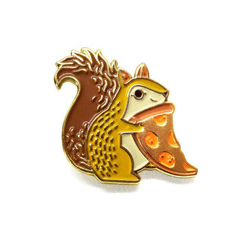 Trash Squirrel Pin