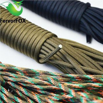ONETOW 2mm*10m Paracord 550 Rope Lanyard Militery Type Accessories Parachute For Outdoor Camping Equipment & Survival,100 Colors