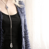 Birds, Feathers Necklace