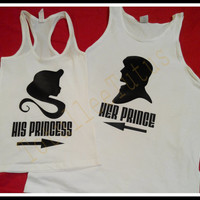 Disney Inspired Rapunzel and Flynn Rider Couples Tshirts Perfect For that Trip To Disney