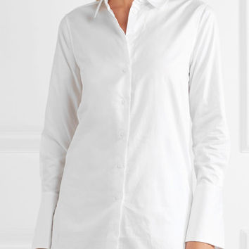 Equipment - Arlette cotton-poplin shirt