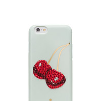 Kate Spade Embellished Cherry Iphone 6 Case Multi ONE
