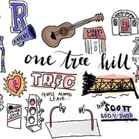 'One Tree Hill icons' Sticker by amandaspac