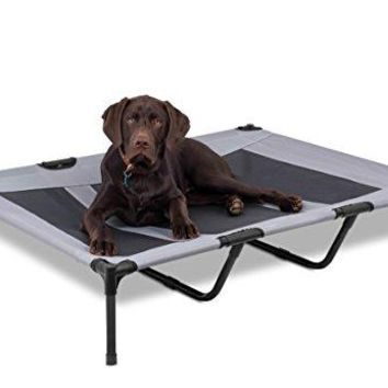 Internet's Best Dog Cot | Elevated Pet Bed | Mesh | Variety of Sizes & Colors