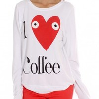 Addicted To Coffee Jumper by Wildfox - ShopKitson.com