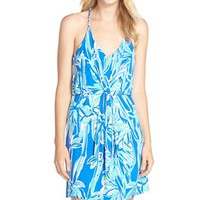 Women's Lilly Pulitzer 'Rosa' Print Racerback Jersey Dress,