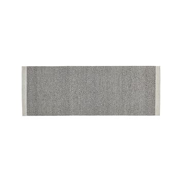 Desi Smoke Grey 2.5'x7' Rug Runner