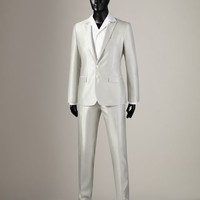 Linen silk mix martini fit suit Men - Tailoring Men on Dolce&Gabbana Online Store United Kingdom - Dolce & Gabbana Group