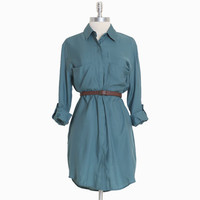 becoming blithe shirt dress