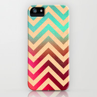 Chevronia XVIII iPhone & iPod Case by Rain Carnival