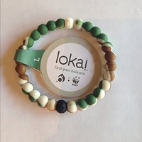 Lokai Bracelet Mud From Dead Sea - Water From MT EVEREST Wild High Quality (7 inch)
