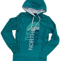 Gliks - The North Face Trivert Pullover Hoodie for Women in Kokomo Green Heather