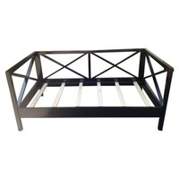 Black Laquer Day Bed