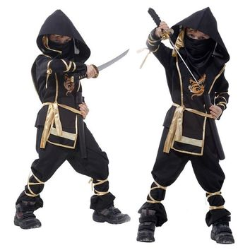 Dragon Ninja Costumes Children Cosplay Fancy Dress
