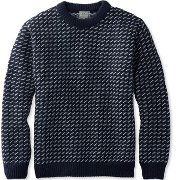Heritage Sweater, Norwegian Crewneck