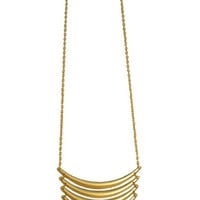 Sunrise Long Layers Necklace-Available in Gold & Silver