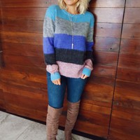 Under The Stars Sweater: Multi