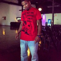 """My dude Marc Q. In the """"Bigger They Are, Harder ... - crossstitchapparel @ Instagram Web Interface - 5th village"""